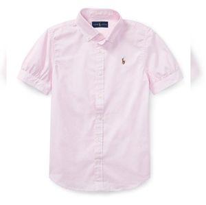 Ralph Lauren Classic Cotton Oxford Shirt - Girls